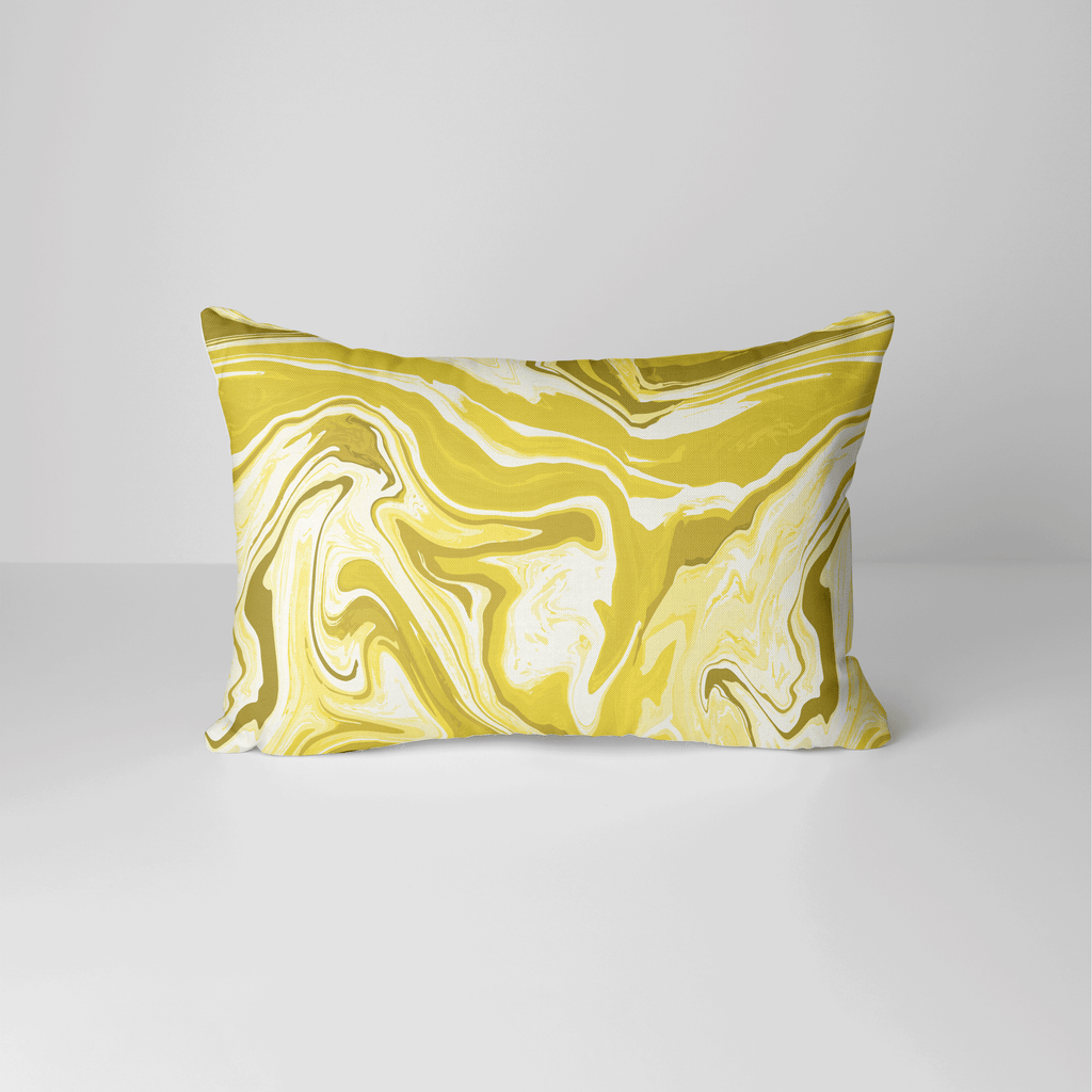 Marble Pillow Cover in Illuminating