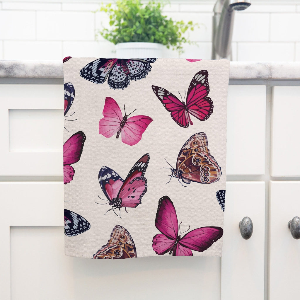 Beverly Tea Towel in Blush - Melissa Colson