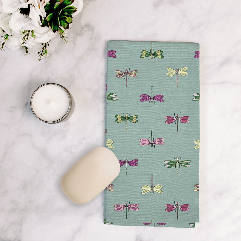 Born to Fly Tea Towel in Happy Aqua - Melissa Colson