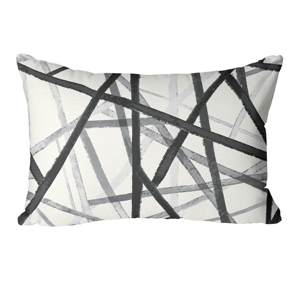 "Curated Sofa Pillow Set ""Ava"" in Ultimate Gray - Melissa Colson"