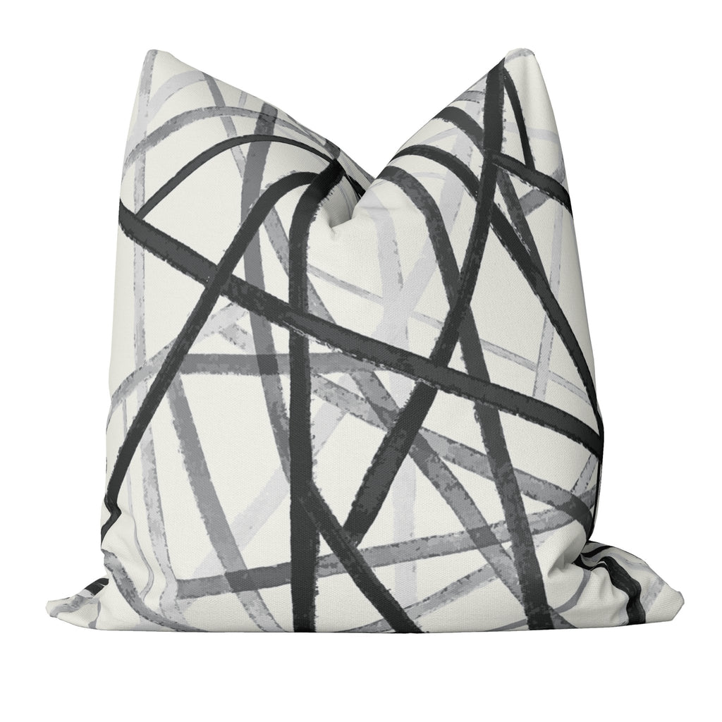 "Curated Sofa Pillow Set ""Zoe"" in Illuminating - Melissa Colson"