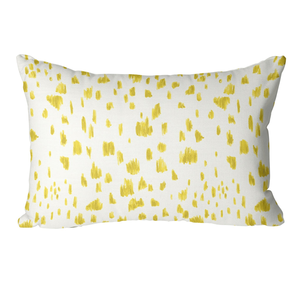 Dashes Pillow Cover in Illuminating - Melissa Colson