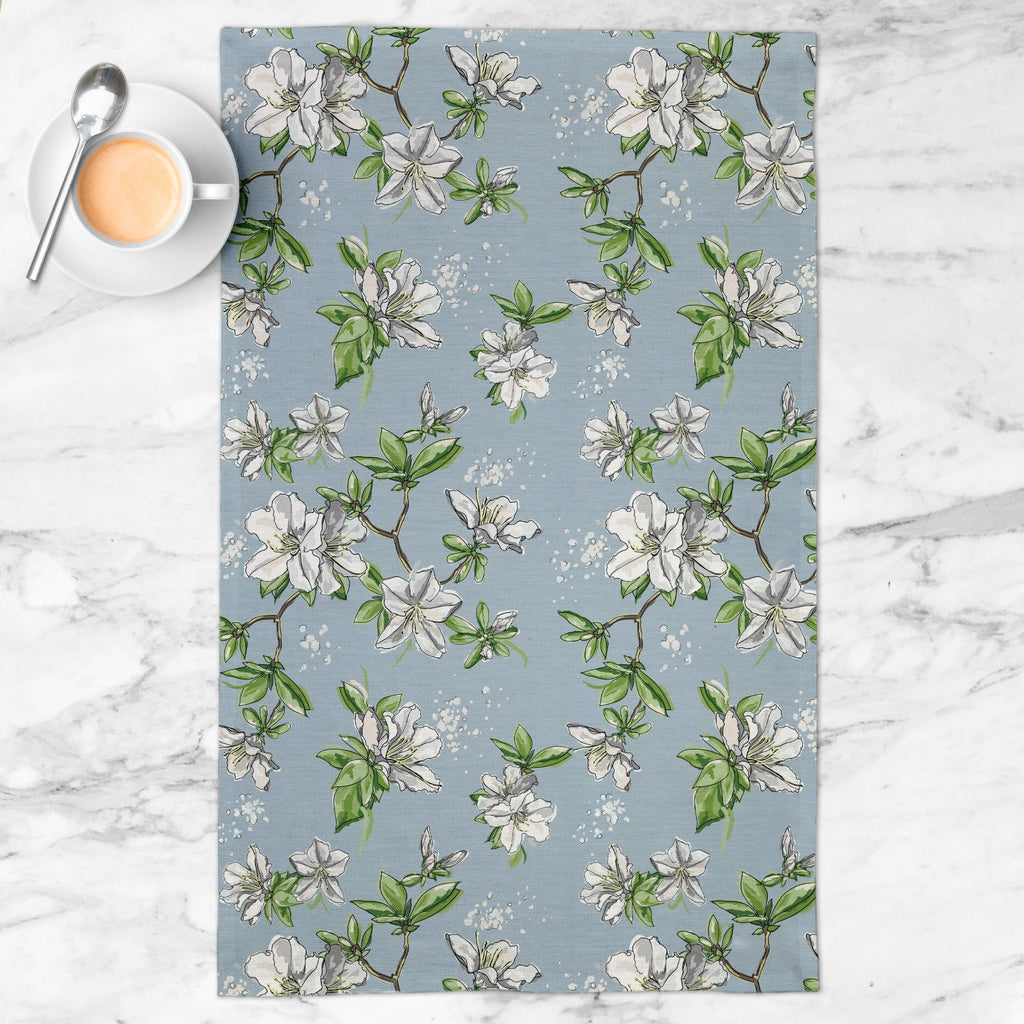 Delight Tea Towel in Wistful Blue - Melissa Colson