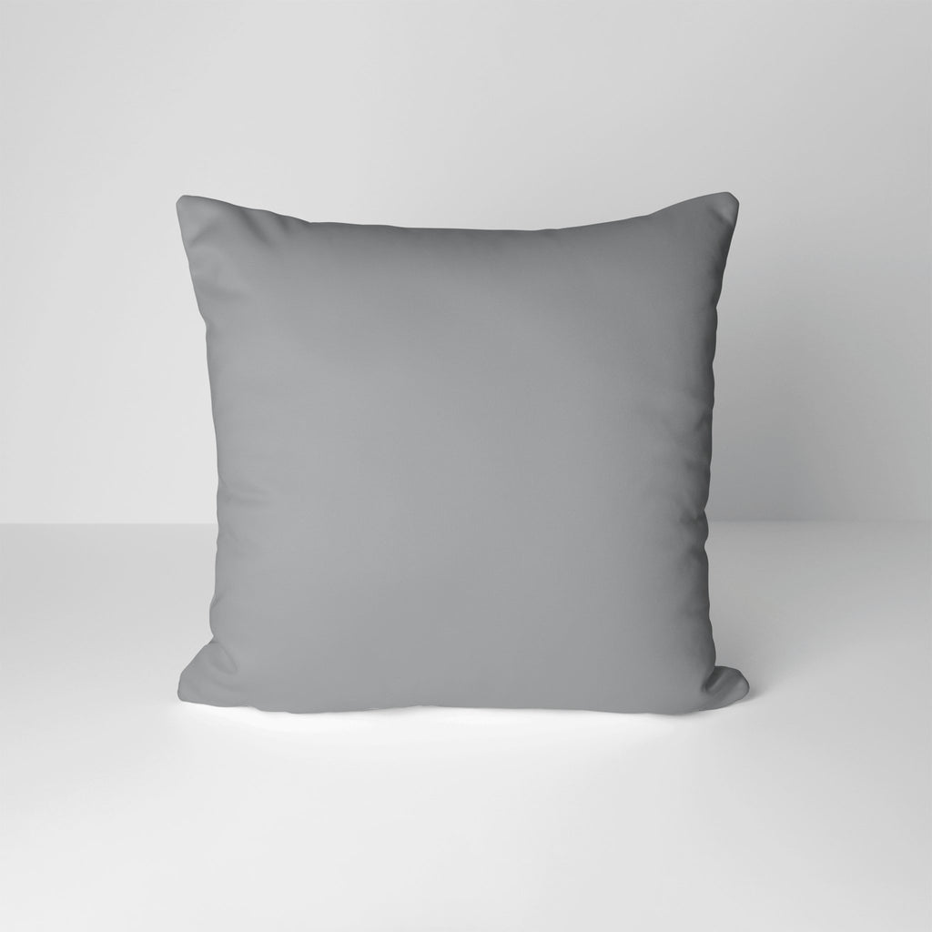 Essential Cotton Pillow Cover in Ultimate Gray - Melissa Colson