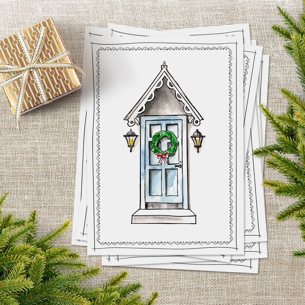 Have Yourself a Merry Little Christmas Card - Melissa Colson