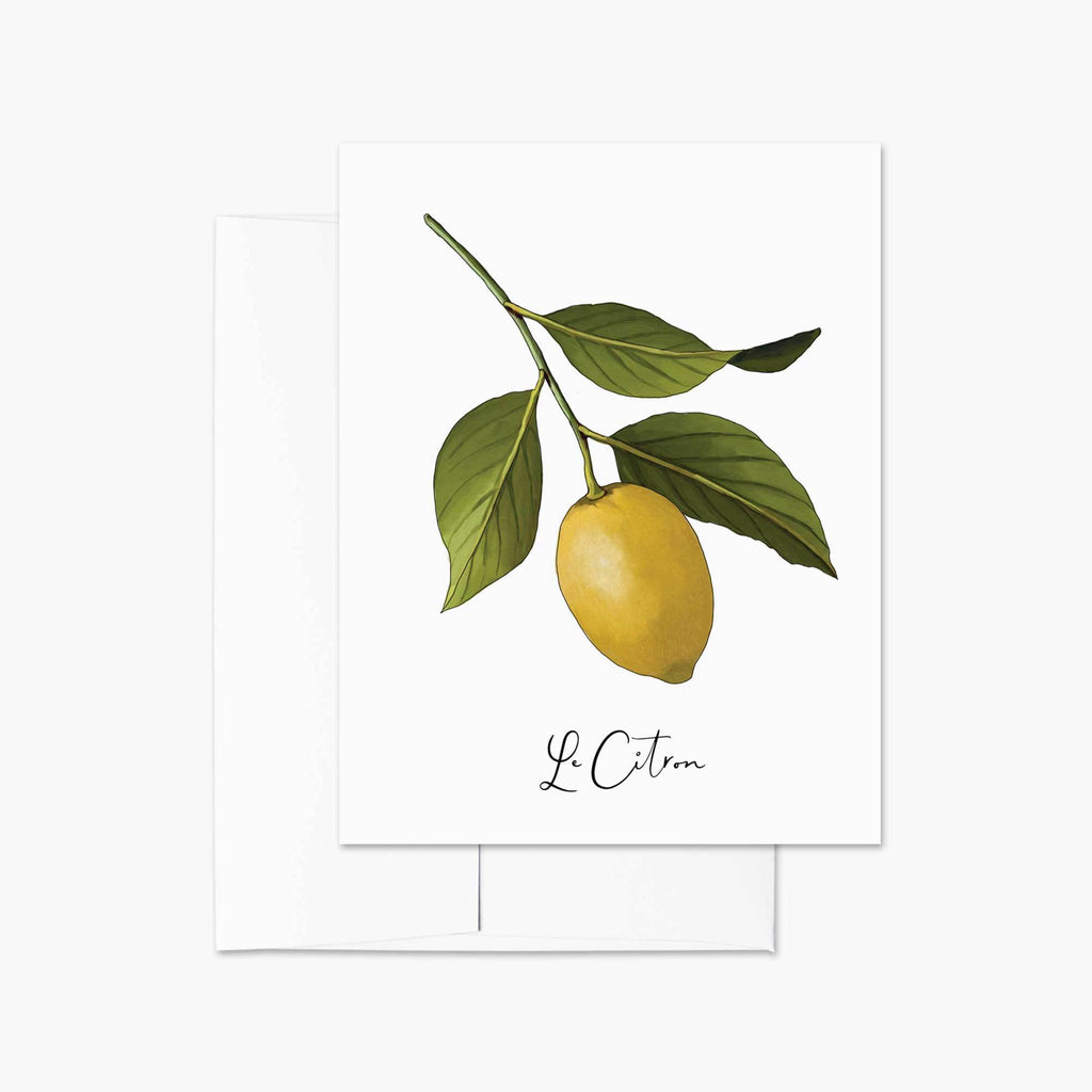 Le Citron Note Card - Melissa Colson