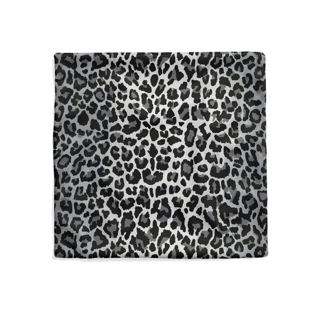 Leopard Pillow Cover in Ultimate Gray - Melissa Colson