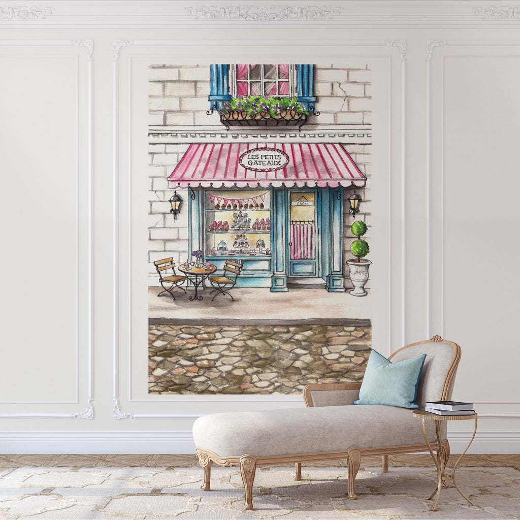 Les Petits Gateaux Peel and Stick Wall Mural - Melissa Colson