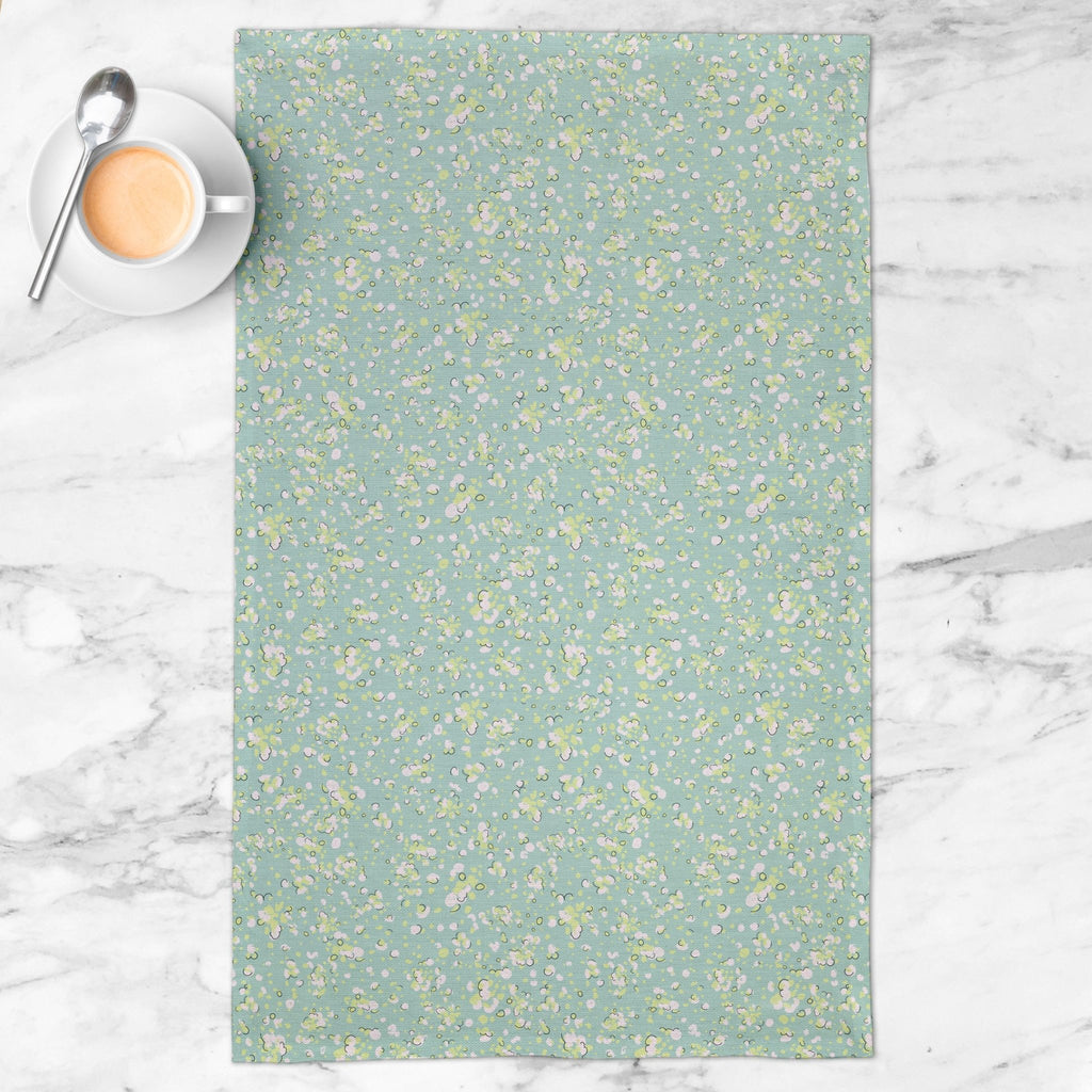 Light Up Tea Towel in Happy Aqua - Melissa Colson