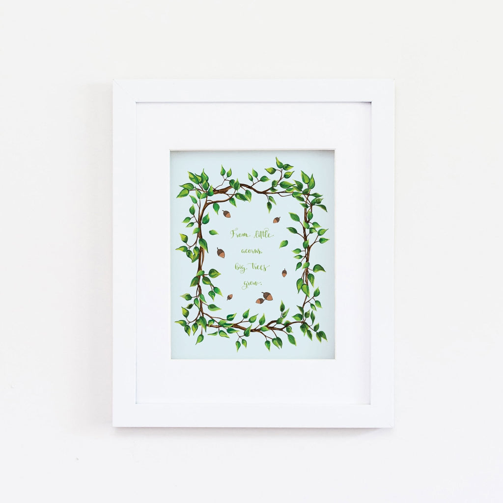 Little Acorns Giclée Art Print - Melissa Colson