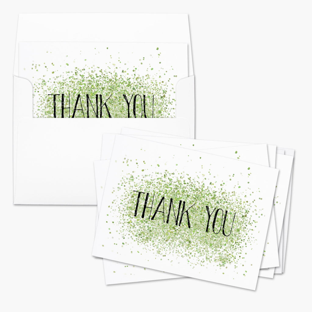 Paint Dots Thank You Card - Melissa Colson