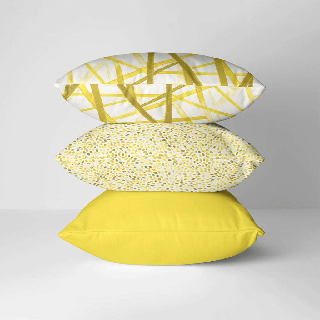 Pebbles Pillow Cover in Illuminating - Melissa Colson