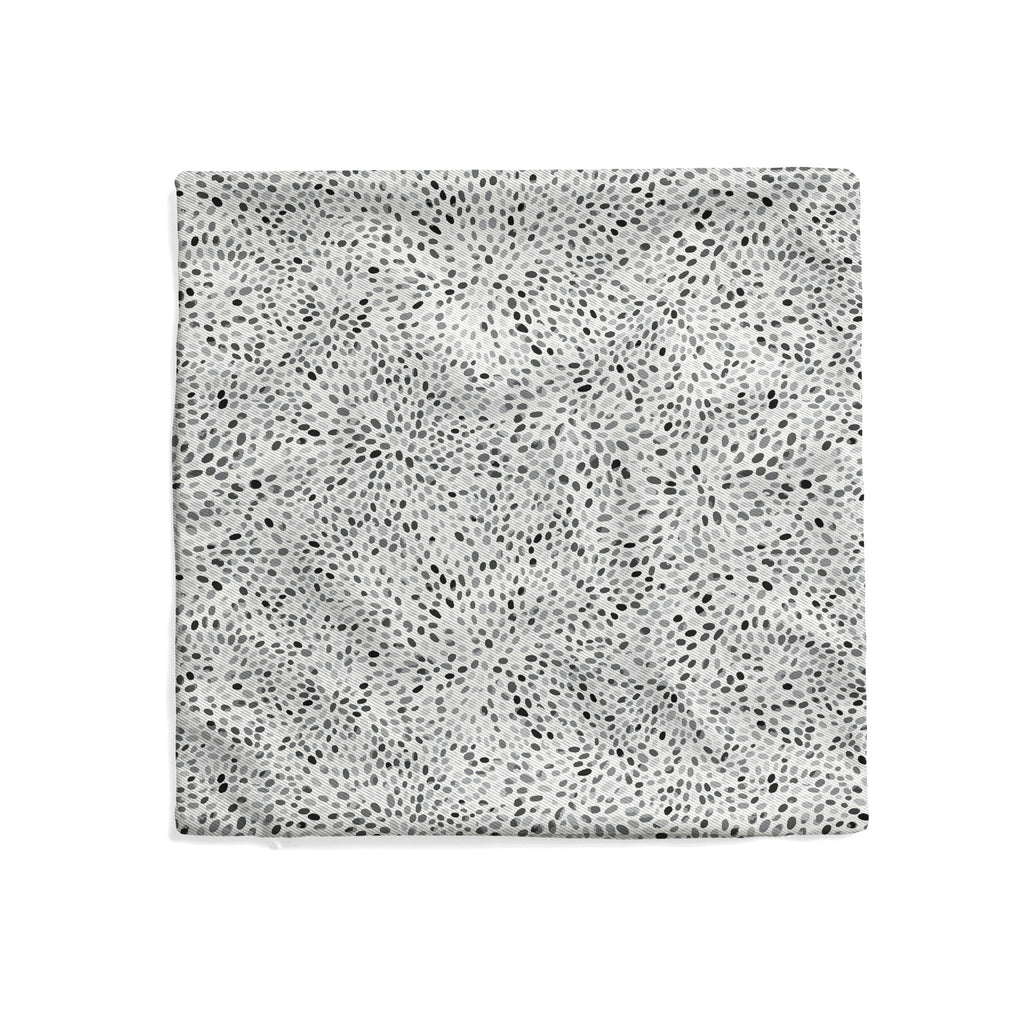 Pebbles Pillow Cover in Ultimate Gray - Melissa Colson