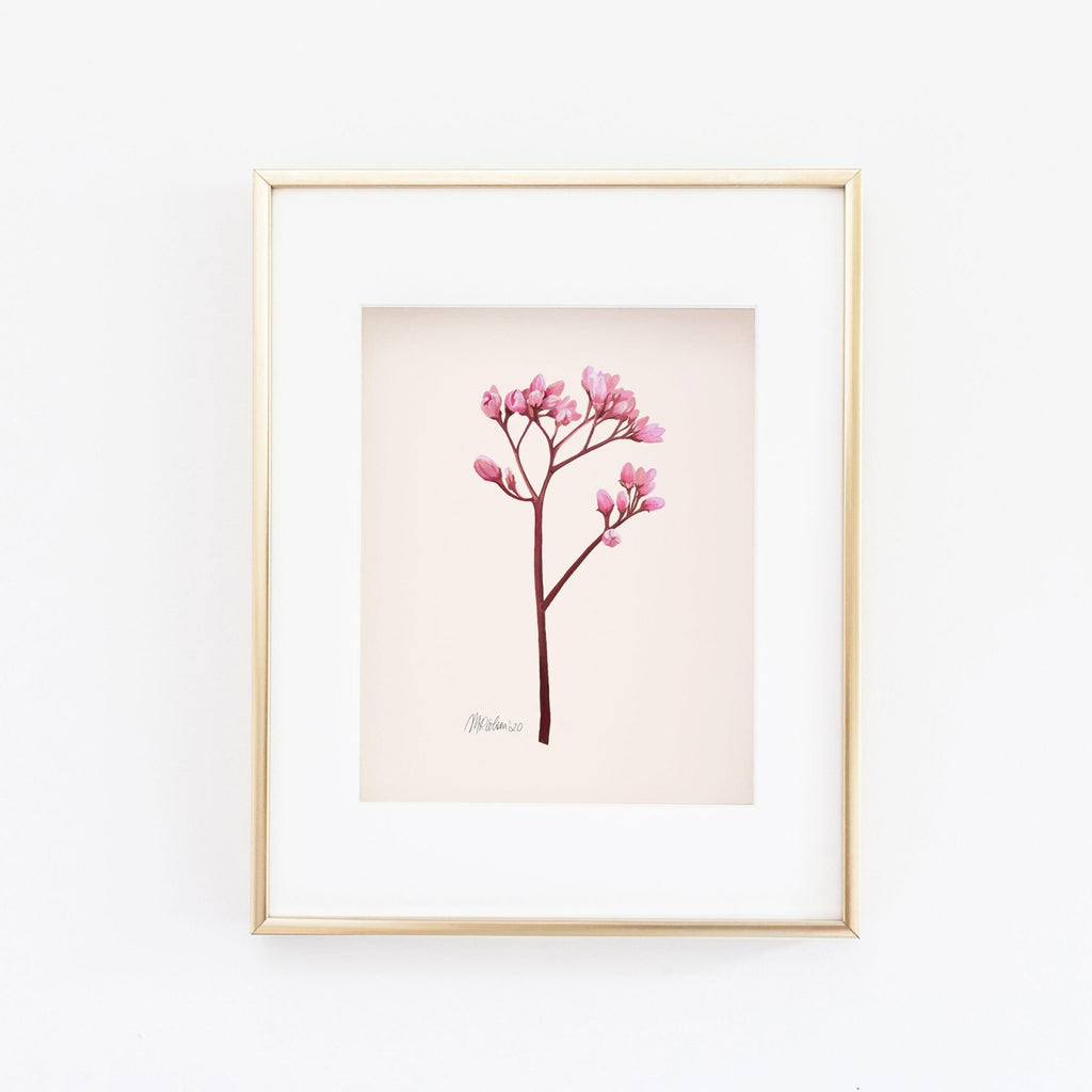 Petite Buds (1 of 2) Watercolor Giclée Art Print - Melissa Colson
