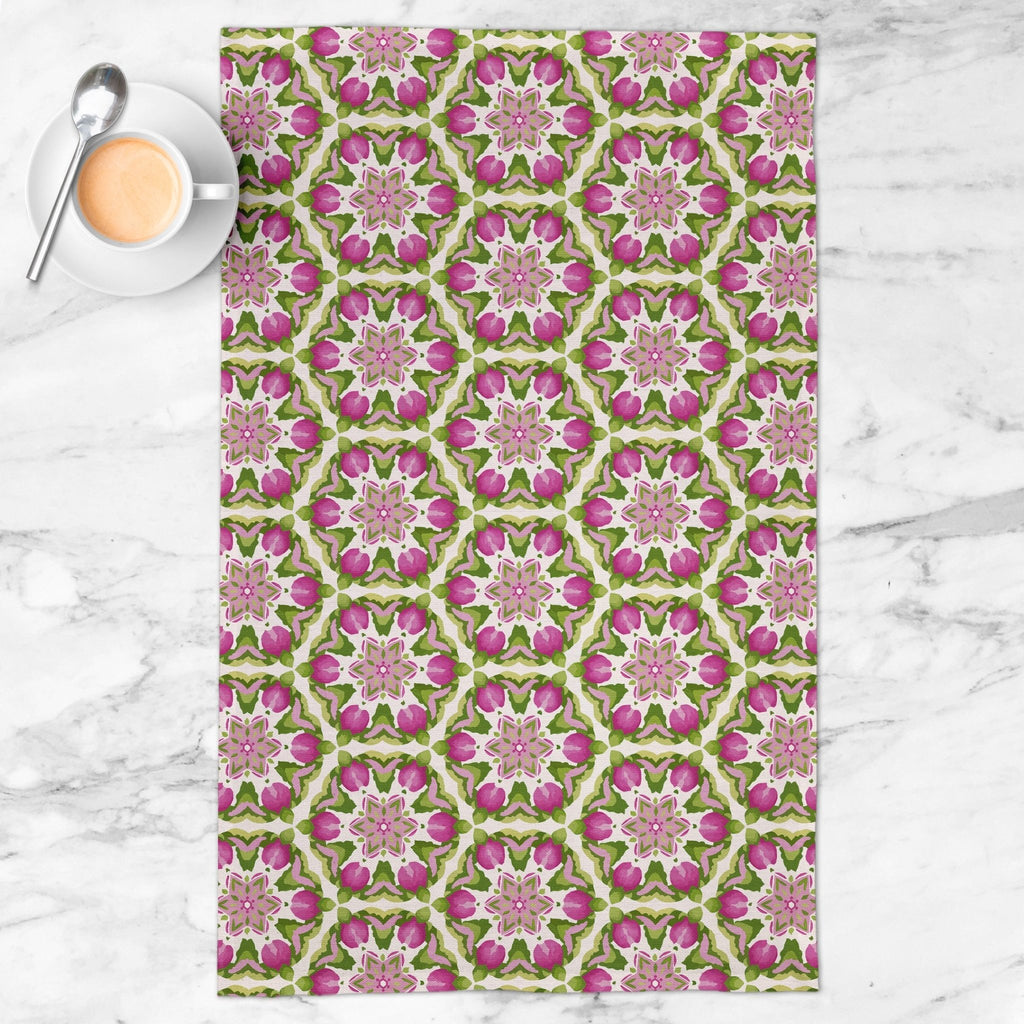 Splendid Fleur Tea Towel in Blush - Melissa Colson