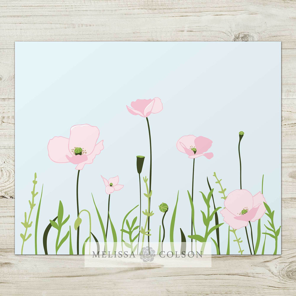 Wonder Floral (1 of 2) Art Print - Melissa Colson
