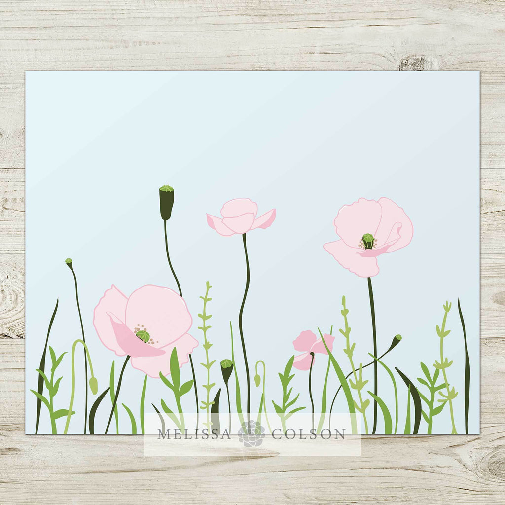Wonder Floral (2 of 2) Art Print - Melissa Colson