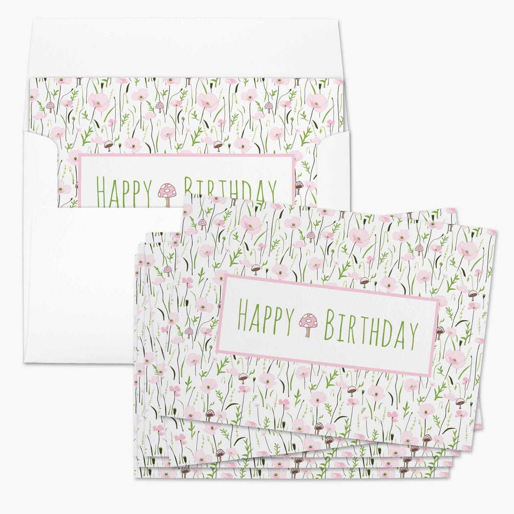Wonder Floral Birthday Card - Melissa Colson