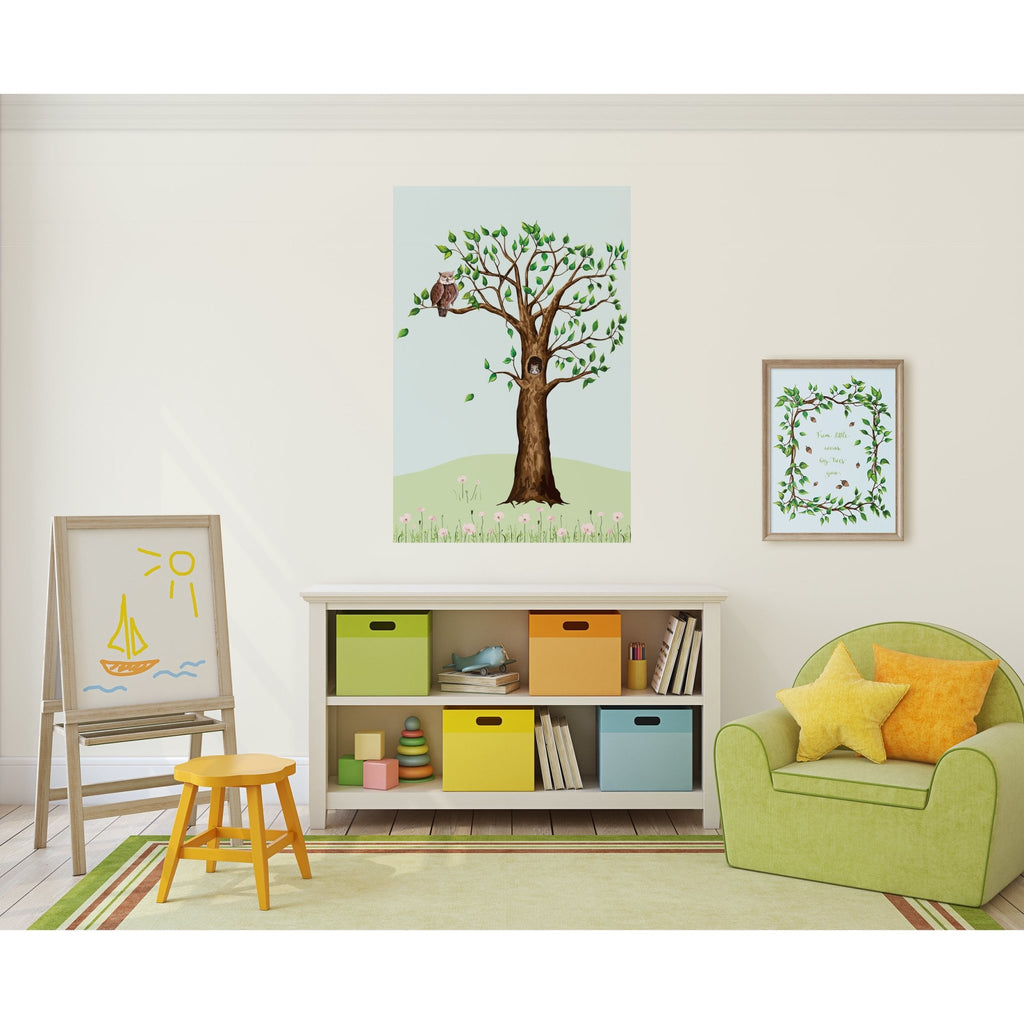 Woodland Wonder Tree Peel and Stick Wall Mural - Melissa Colson