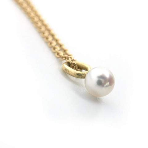 Handmade Pearl Drop Pendant for necklace or charm bracelet