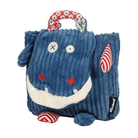 Cute Backpack for Children Hippipos The Hippo by Les Déglingos