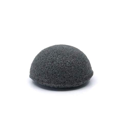 Bamboo Charcoal Korean Facial Sponge by Konjac