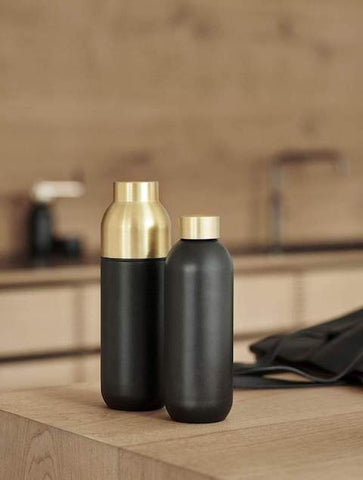 Eco-friendly reusable water bottles and flask by Stelton