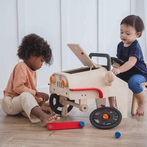 Large Motor Mechanic Toy by Plan Toys
