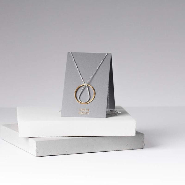 Elegant necklace made in the UK