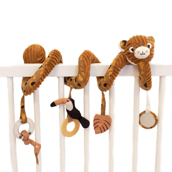 Activity spiral Speculos the Tiger - Cot Toy - Les Déglingos - Totem Store