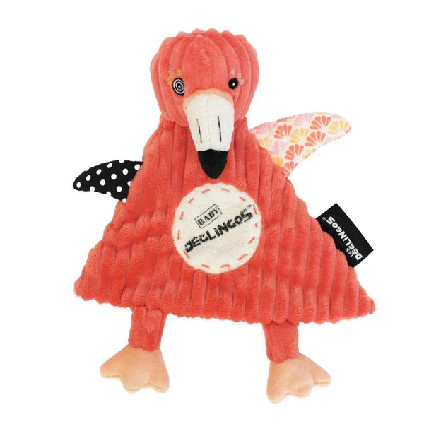 Baby Comforter Flamingos the Flamingo - Baby Comforter - Les Déglingos - Totem Store