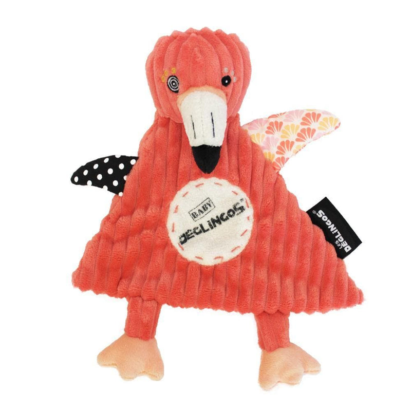 Baby Comforter Flamingos the Flamingo-Baby Comforter-Les Déglingos-Totem Store