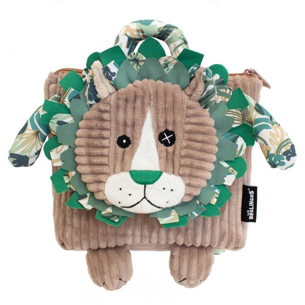 Backpack Jélékros the Lion - Kids Backpack - Les Déglingos - Totem Store