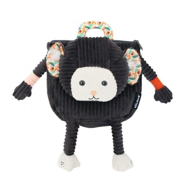 Backpack Kezakos the Marmoset - Kids Backpack - Les Déglingos - Totem Store