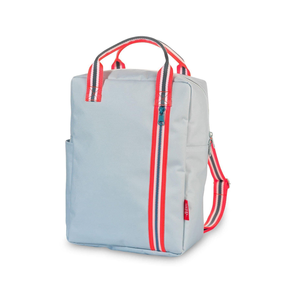 Backpack Zipper Light Blue-Backpack-Engel-Large-Totem Store