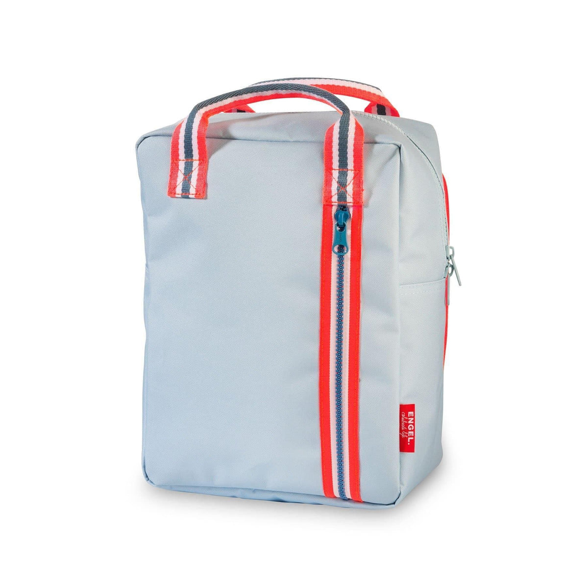 Backpack Zipper Light Blue-Backpack-Engel-Medium-Totem Store