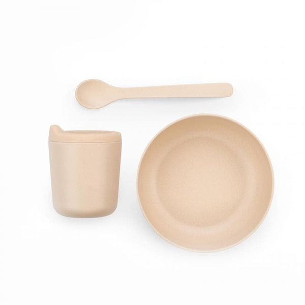 Bamboo Baby Feeding Set-Kids Dish Set-Ekobo-Blush-Totem Store