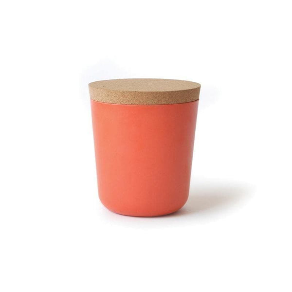 Bamboo Storage Jar - Large-Food Container-Ekobo-Persimmon-Totem Store