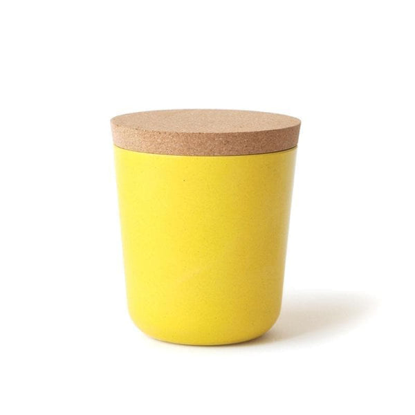 Bamboo Storage Jar - XL-Food Container-Ekobo-Lemon-Totem Store