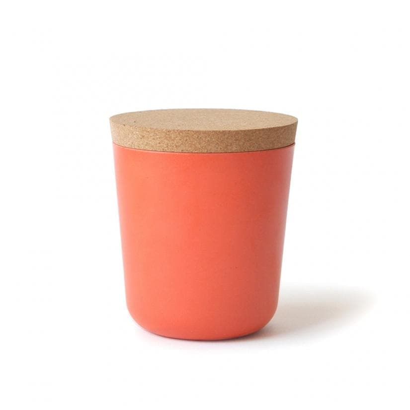 Bamboo Storage Jar - XL-Food Container-Ekobo-Persimmon-Totem Store