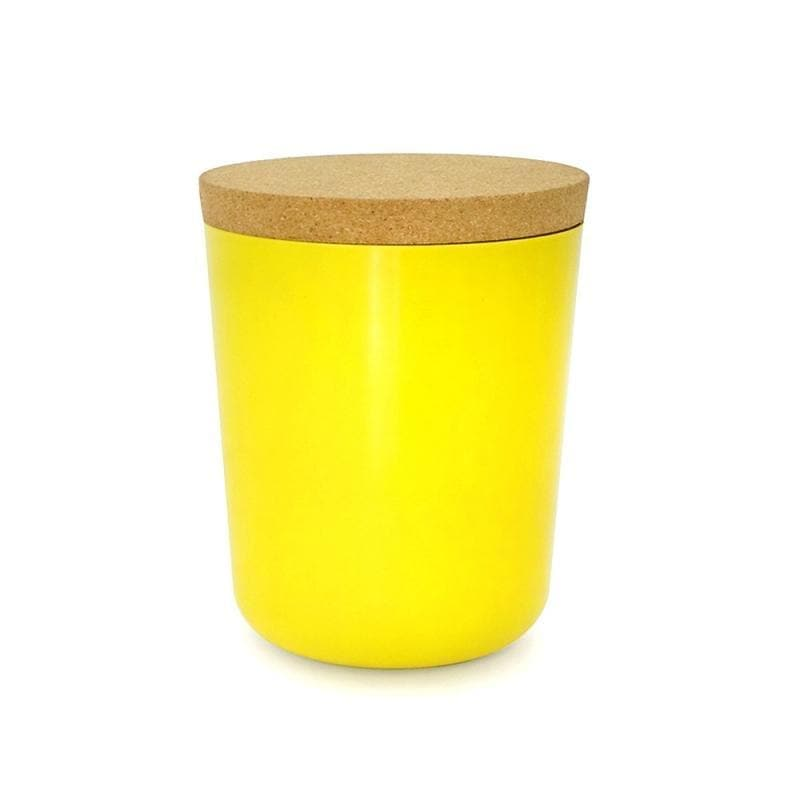 Bamboo Storage Jar - XXL-Food Container-Ekobo-Lemon-Totem Store