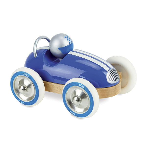 Blue Vintage Roadster Car-Car Toy-Vilac-Totem Store