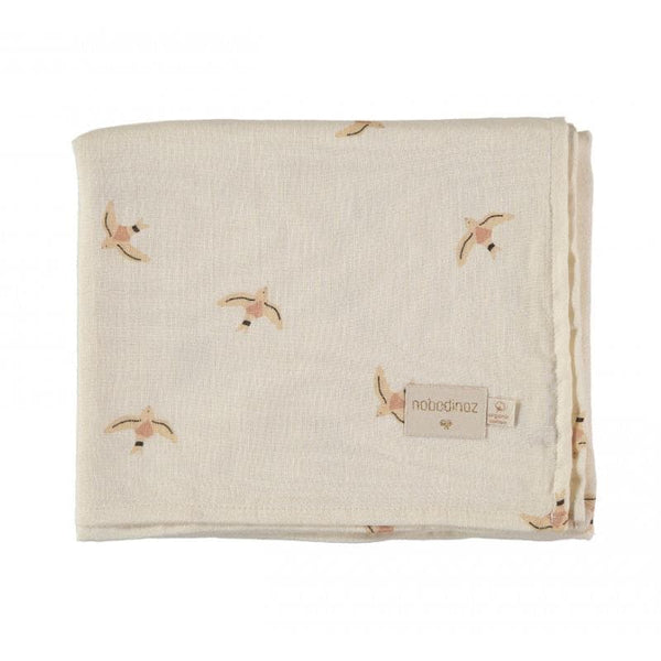 Butterfly Swaddles Haiku Large 2 Pack-Swaddle-Nobodinoz-Totem Store