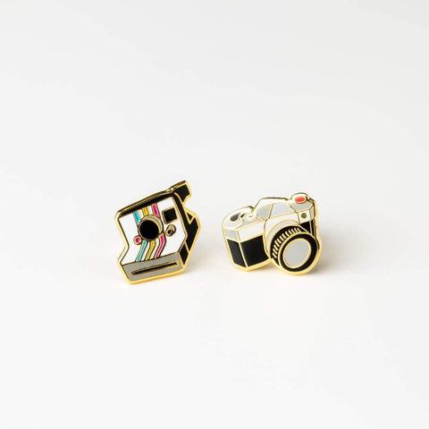 Camera Earrings-Studs Earrings-Yellow Owl Workshop-Totem Store