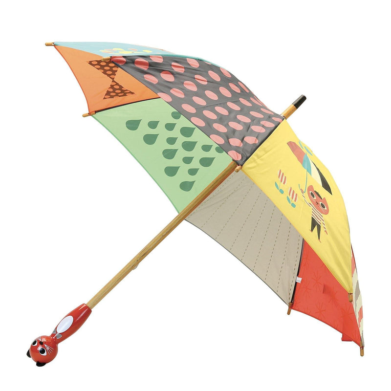Cat umbrella by Ingela P.Arrhenius - Kids Umbrella - Vilac - Totem Store