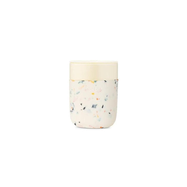 Ceramic Porter Mug Terrazzo Cream-Reusable Cup-W&P Design-Totem Store