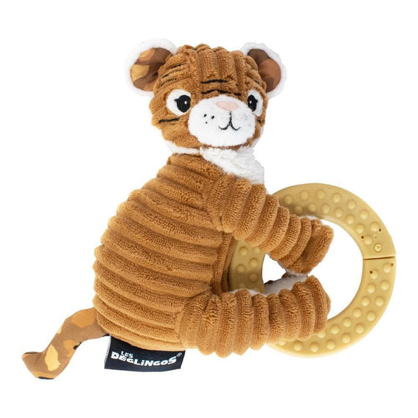 Chewing toy Speculos the Tiger - Teether - Les Déglingos - Totem Store