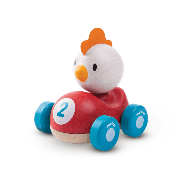 Chicken Racer-Car Toy-Plan Toys-Totem Store
