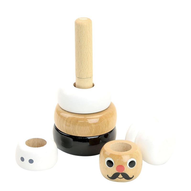 Cook stacking toy by Ingela P.Arrhenius - Learning Toy - Vilac - Totem Store
