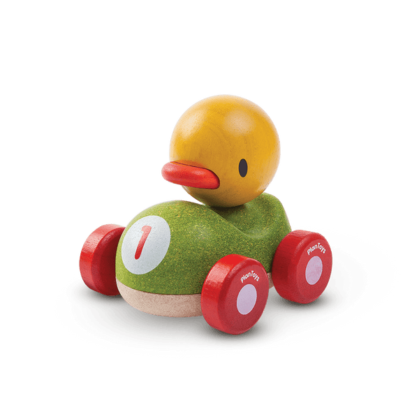 Duck Racer - Car Toy - Plan Toys - Totem Store